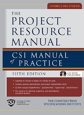 The Project Resource Manual By Construction Specifications Institute